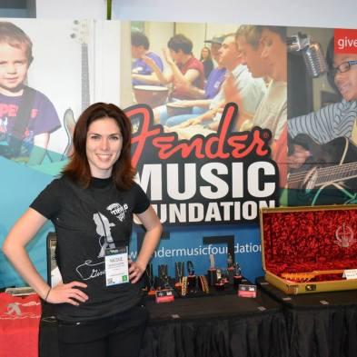 Fender Music Foundation Volunteer