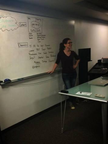 LA Women in Music Social Media Workshop 2014 Nicole Slater social media speaker
