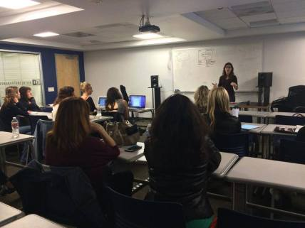 LA Women in Music Social Media Workshop class 2014 Nicole Slater social media Speaker