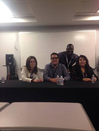 Nicole Slater social media speaker SAE LA Tech Expo Social Media in the Music Industry Panel